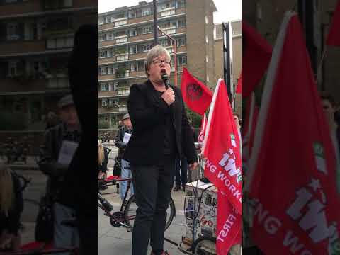 'I can't believe in 2017 we're still arguing for workers' rights' Caroline Russell