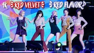 191012 Red Velvet - Red Flavor (고정캠 4K 레드벨벳, 빨간맛 @구미 사랑 페스티벌…