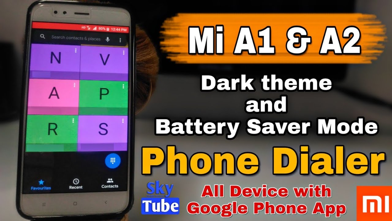 Dark Mode & Battery Saver On Google Phone apk, Update Released For Mi A1,  Mi A2 & More Device