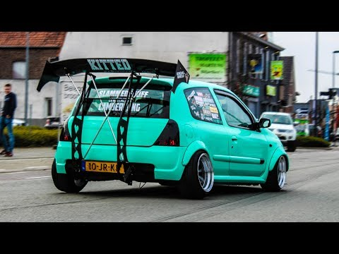 Modified cars leaving a Carshow | Wanted VIII 2018