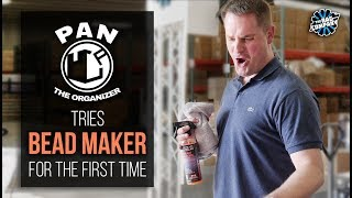 Pan the Organizer Tries BEAD MAKER for the First Time | THE RAG COMPANY