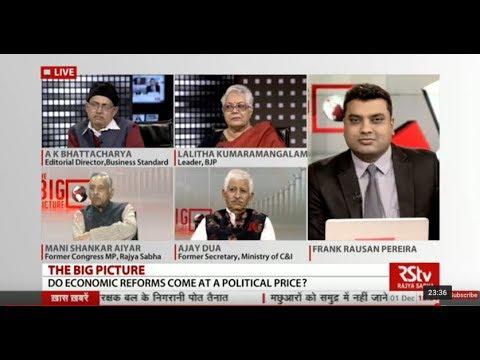 The Big Picture - Do Economic reforms come at a Political price?