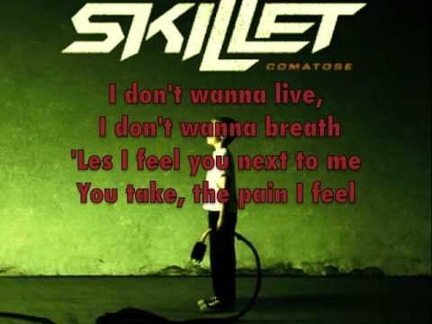 Skillet - Comatose (Lyrics) HQ