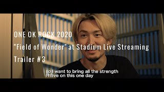 "ONE OK ROCK ""Field of Wonder"" – Preview Trailer #3"