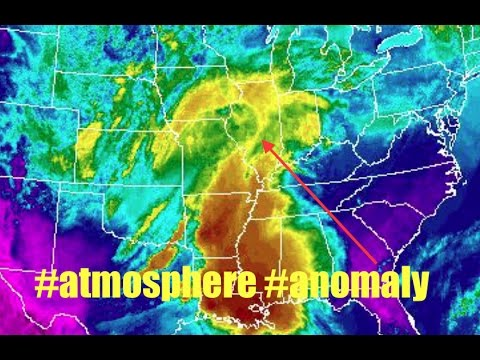 Something strange going on in the atmosphere | Anomaly appears above another Superstorm!