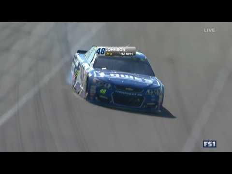 Jimmie Johnson and Jamie McMurray Crash HARD - NASCAR Cup Pocono 2017