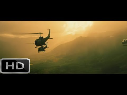 KONG: Skull Island Part 1/2 Scene With Helicopters