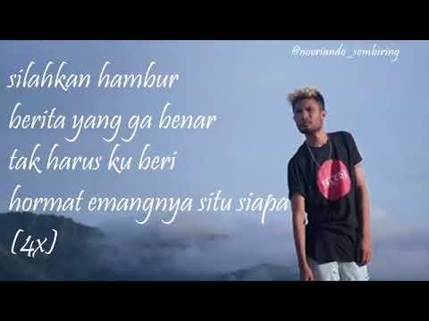 RABIG   Emangnya Situ Siapa ft  ECKO SHOW Lirik Mp3