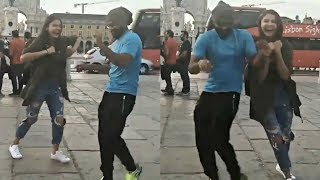 Anushka Sharma Dance With Virat Kohli On Street Of South Africa