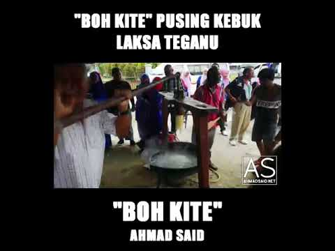 'Boh Kite' pusing kebuk hasilkan Laksa Terengganu