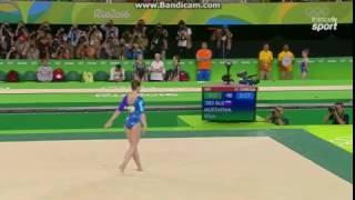 Aliya Mustafina RUS Fx AA Olympics Rio 2016