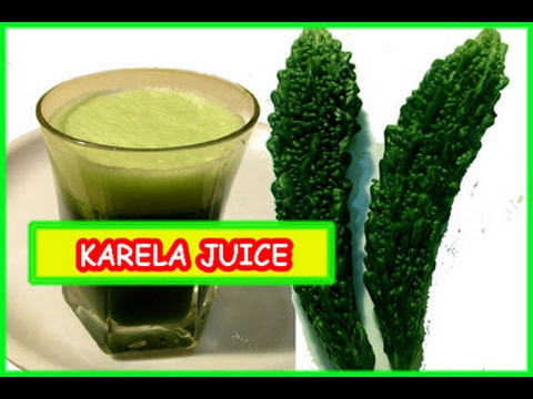 Karela Ka Juice Bitter Gourd Juice Recipe In Hindi