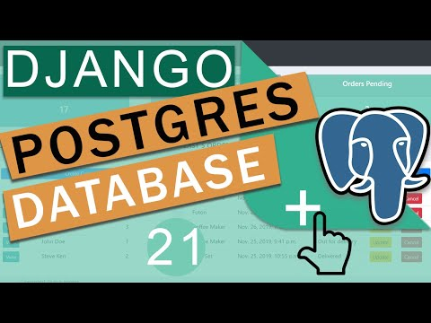 Postgres Database + AWS RDS    Django (3.0) Crash Course Tutorials (pt 21)