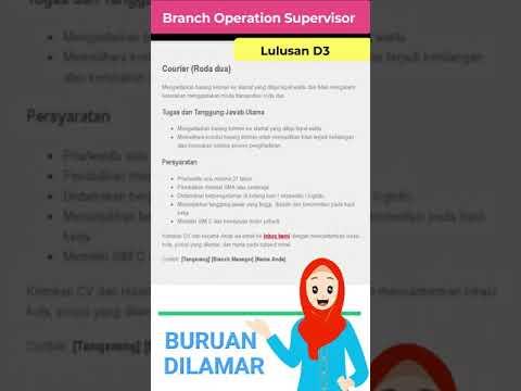 Download Loker Lulusan SMA Sederajat Posisi Courier Roda Dua JET Express