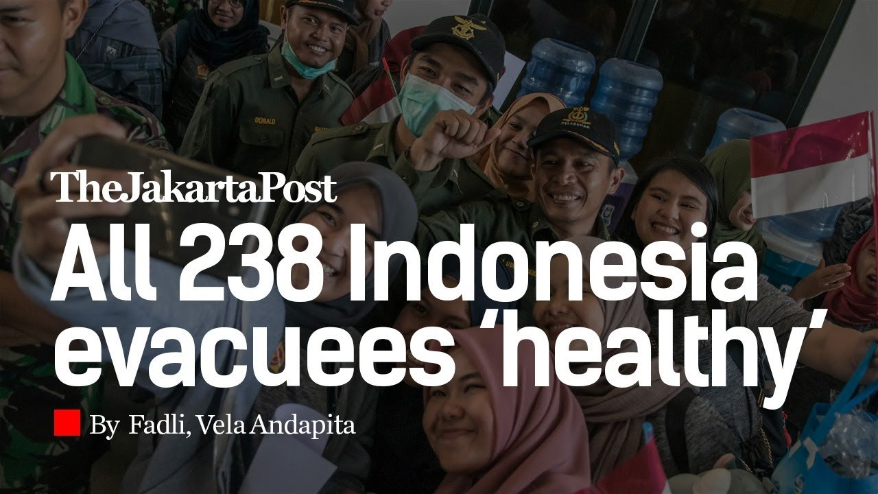 All 238 Indonesia Evacuees Healthy Head Home From Natuna Quarantine Youtube