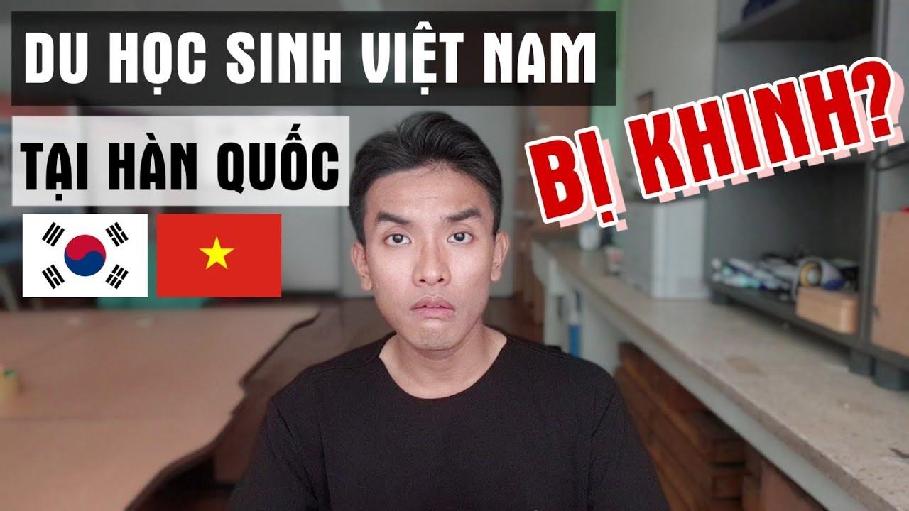 Lí do du học sinh Việt Nam tại Hàn Quốc bị khinh thường?