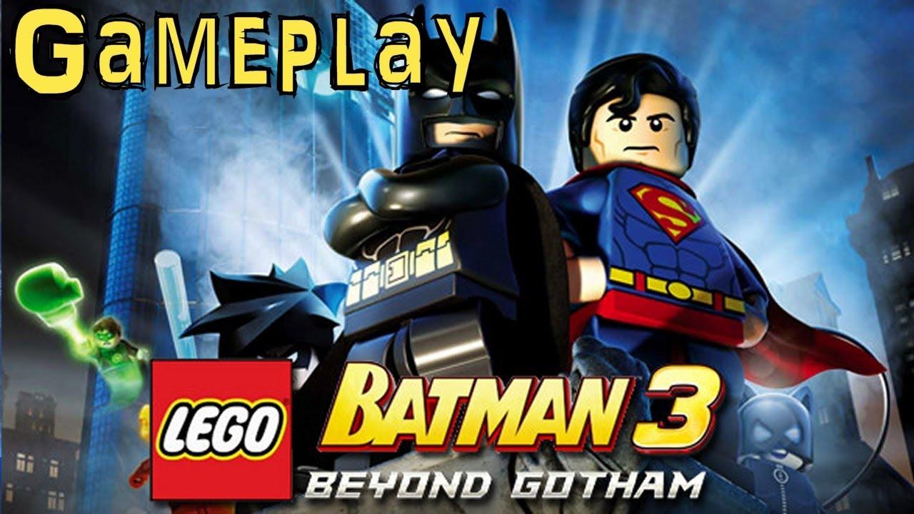 Lego Batman 3: Beyond Gotham (Game-Play 1 of 2) - YouTube