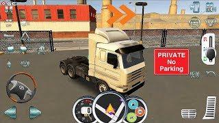 Euro Truck Driver 2018 - Cargo Beer Hamburg - ETS Truck Simulator Android Gameplay #6