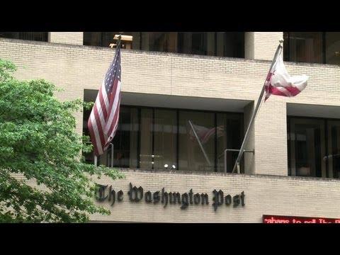 """Vente du Washington Post: les journalistes """"sous le choc"""""""