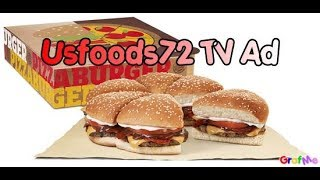 USFOODS72 BURGER KING TV COMMERCIAL.