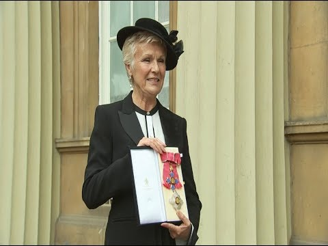 Actress Julie Walters awarded Damehood at Buckingham Palace