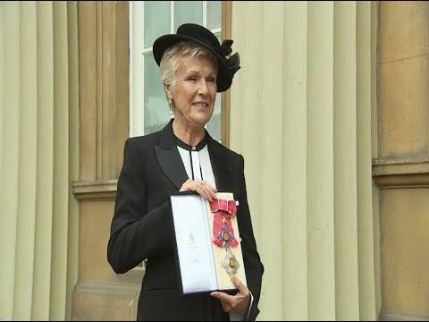 Actress Julie Walters awarded Damehood at Buckingham Palace