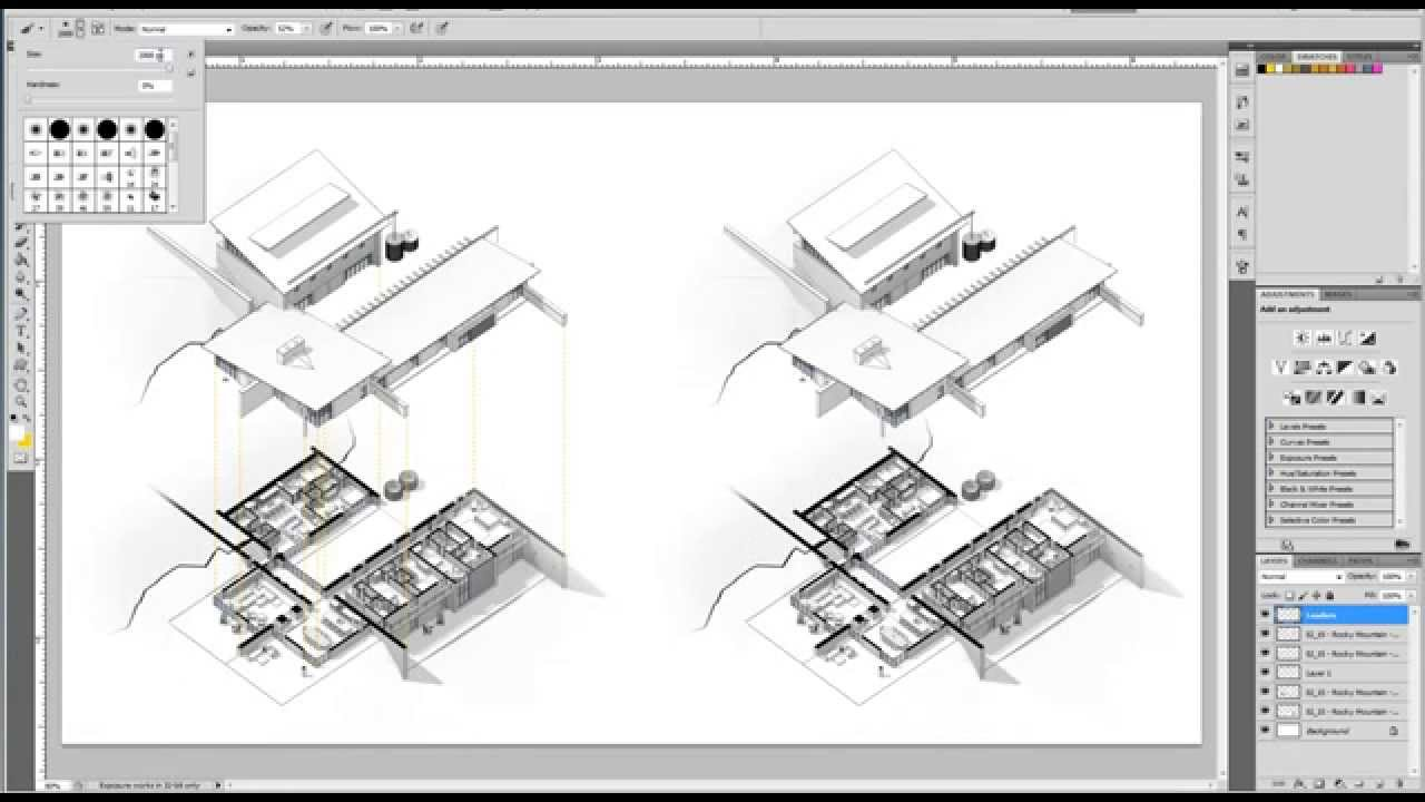 Revit Tutorial Exploded Axon Techniques Displaced Views Youtube