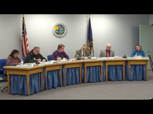 Town of Plattsburgh Meeting  12-5-16