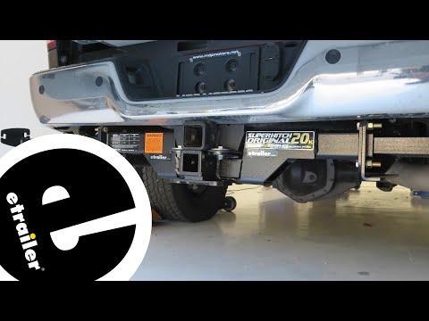 Etrailer | TorkLift SuperHitch Original Trailer Hitch Installation - 2015 Ram 3500