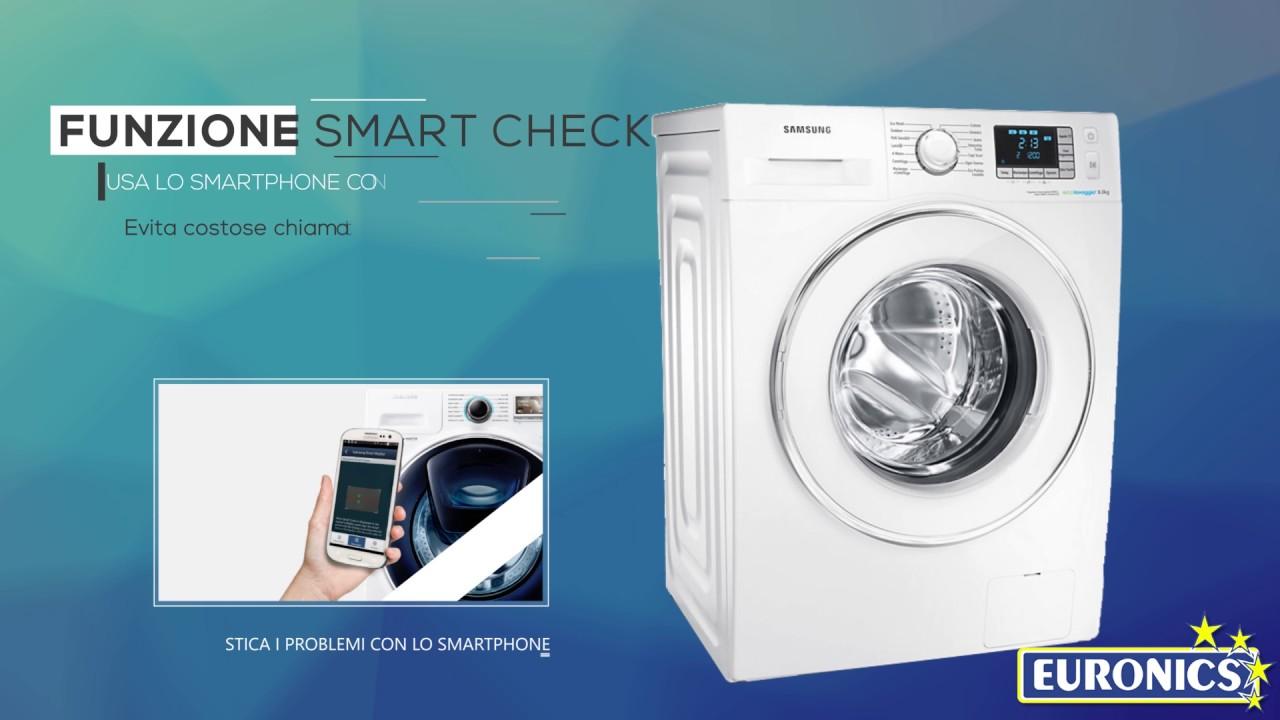 Samsung | Lavatrice | Serie Ecolavaggio Crystal (WF80F5E5W2W)
