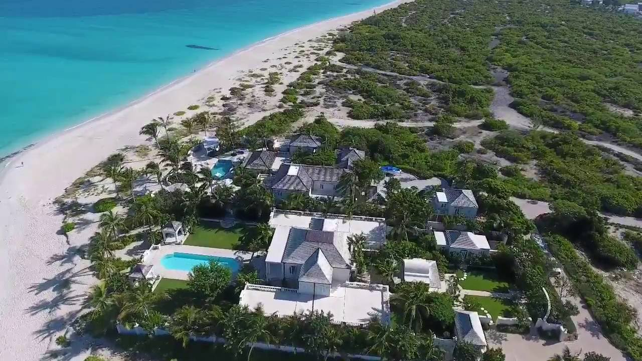 Coral House Mansion Grace Bay Turks Caicos Islands