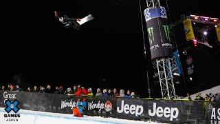 GOLD MEDAL VIDEO: Monster Energy Men's Snowboard SuperPipe | X Games Aspen 2020