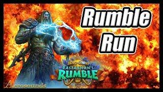 Battle Crying! Shaman Rumble Run Hearthstone
