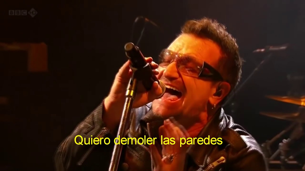 U2 - Yellow / Where the streets have no name (subitulos español) live Glastonbury 2011