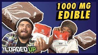 Eating 1,000 MG Weed Edible + Aftermath | Loaded Up