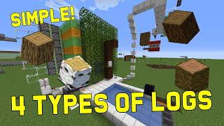 AUTOMATIC TREE FARM! 4 TYPES 1.16+ [TNT Powered] - Works for Spruce Logs - Best Easy Minecraft Farms