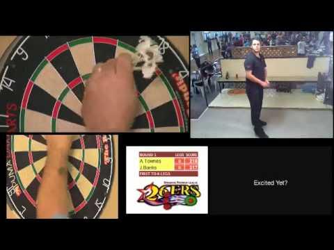 Brisbane Premier League of Darts - Andrew Townes v Jeremy Banks