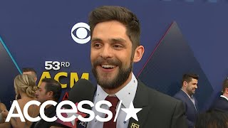 ACM Awards 2018: Thomas Rhett On His Adorable Daughter Willa & His Friendship With Ashton Kutcher