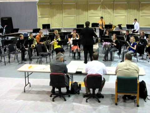 2011 Cokeville High School Band at Festival