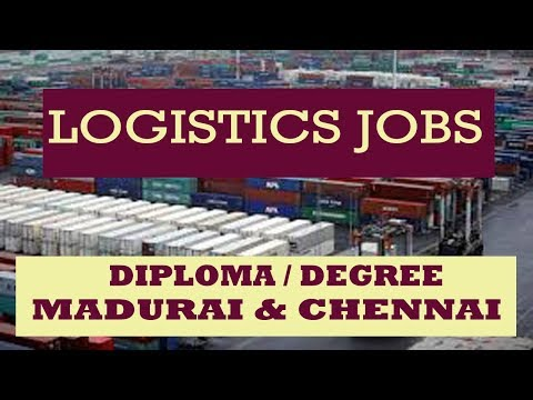 logistics-jobs---fresher---diploma-/-degree---madurai-and-chennai