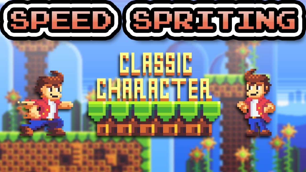 Speed Spriting - Classic Character