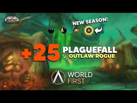 Download WORLD FIRST +25 Plaguefall   Shadowlands Season 2    Ambition   JPC Rogue PoV