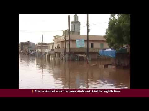 Decades of patchy rain are drowning Senegal