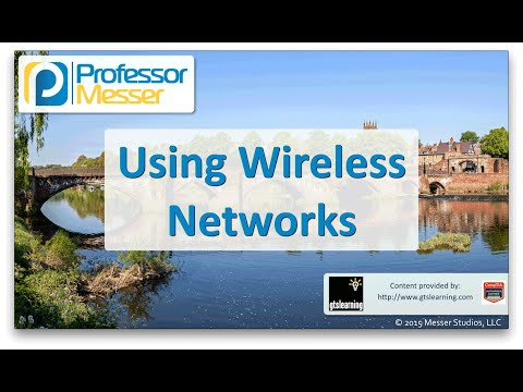 Using Wireless Networks - CompTIA Network+ N10-006 - 2.7