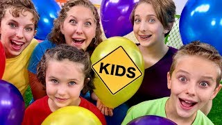 Learn Balloon Colors with Sign Post Kids!