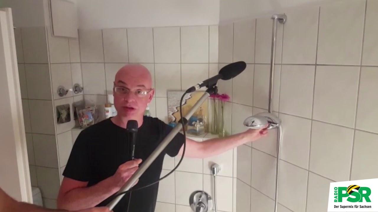 Die Lösung: Das geheimnisvolle Geräusch 9 - Dusche