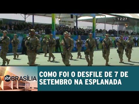 Confira como foi o desfile de 7 de setembro na Esplanada | SBT Brasília 07/09/2018