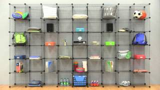 Whitmor Wire Storage Cubes