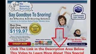 stop snoring surgery nz | Say Goodbye To Snoring