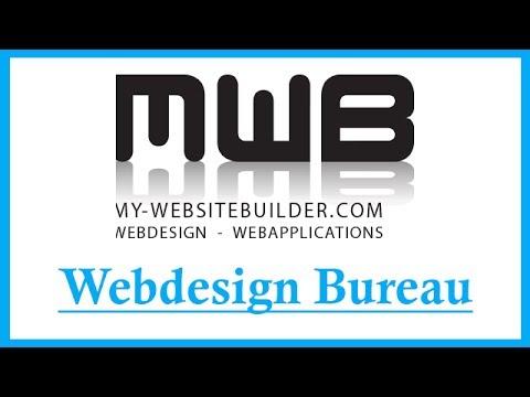 My Websitebuilder  Een Professioneel Webdesign Bureau